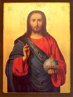 CHRIST BLESSING, PANTOCRATOR