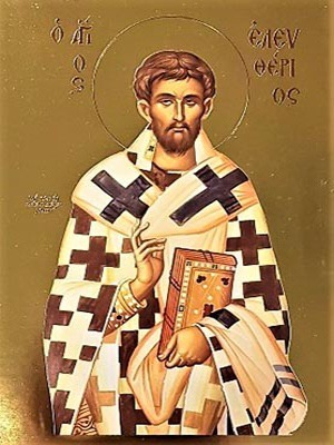 SAINT ELEUTHERIUS, HIEROMARTYR, BISHOP OF ILLYRIA