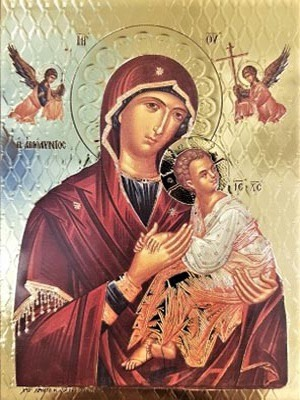VIRGIN AND CHILD, IMMACULATE